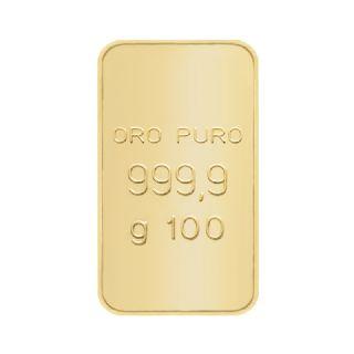 Lingotto in oro puro 24 carati