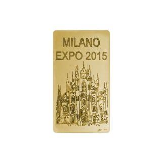 """Lingotto in oro g. 31,10  """"Duomo"""""""