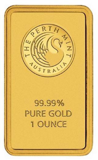 Lingotto Oro da 1 oz Perth Mint