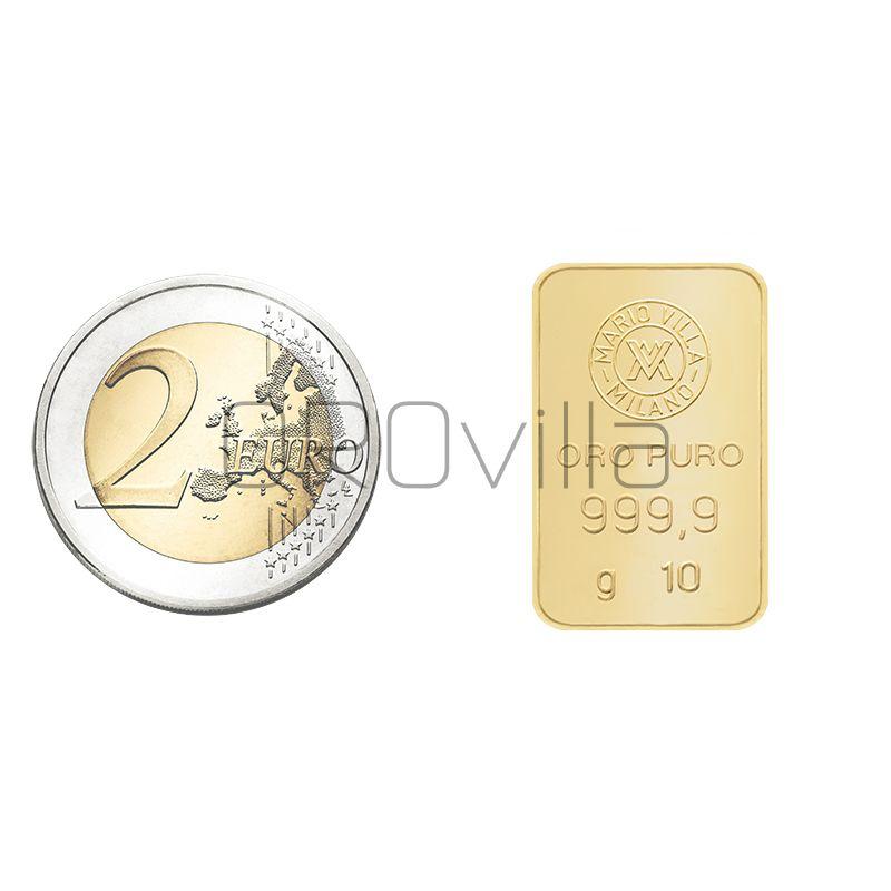 Lingotto oro 10 grammi
