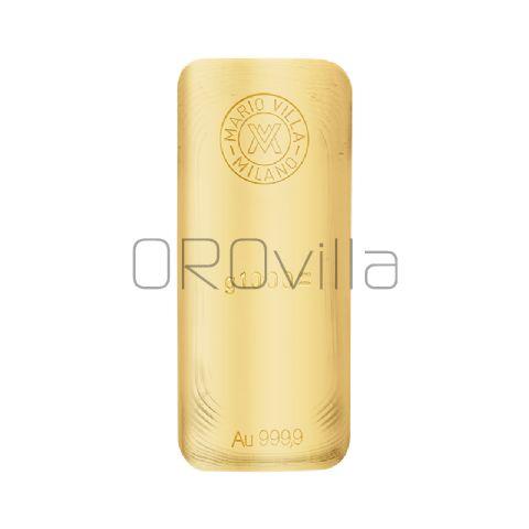 Lingotto oro fuso 1000 gr