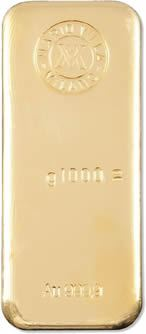 Lingotto d'oro 1000 g