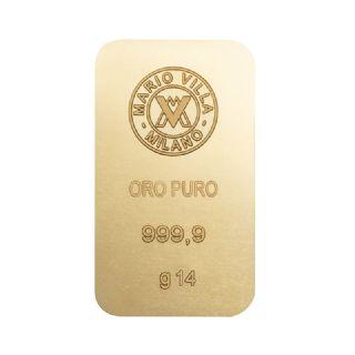 Lingotto oro 14 gr