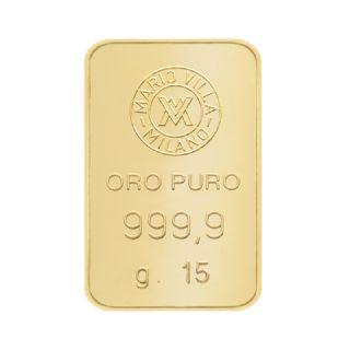 Lingotto oro 15 gr