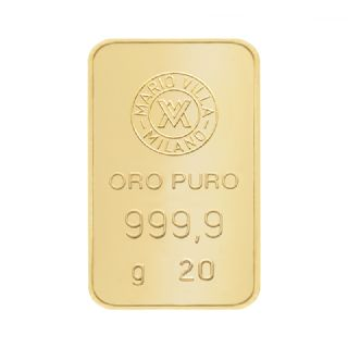 Lingotto oro 20 gr