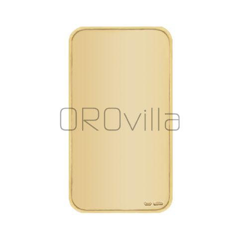 Lingotto coniato in oro 25 grammi