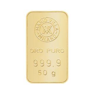 Lingotto oro 50 gr