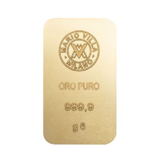 Lingotto oro 6 gr