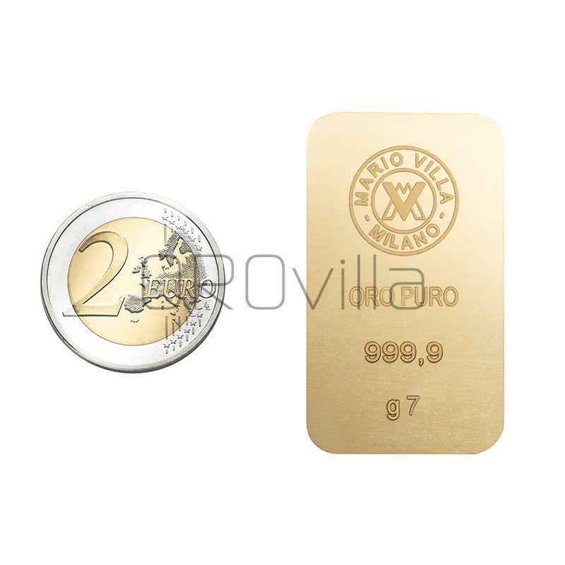 Lingotto oro 7 gr