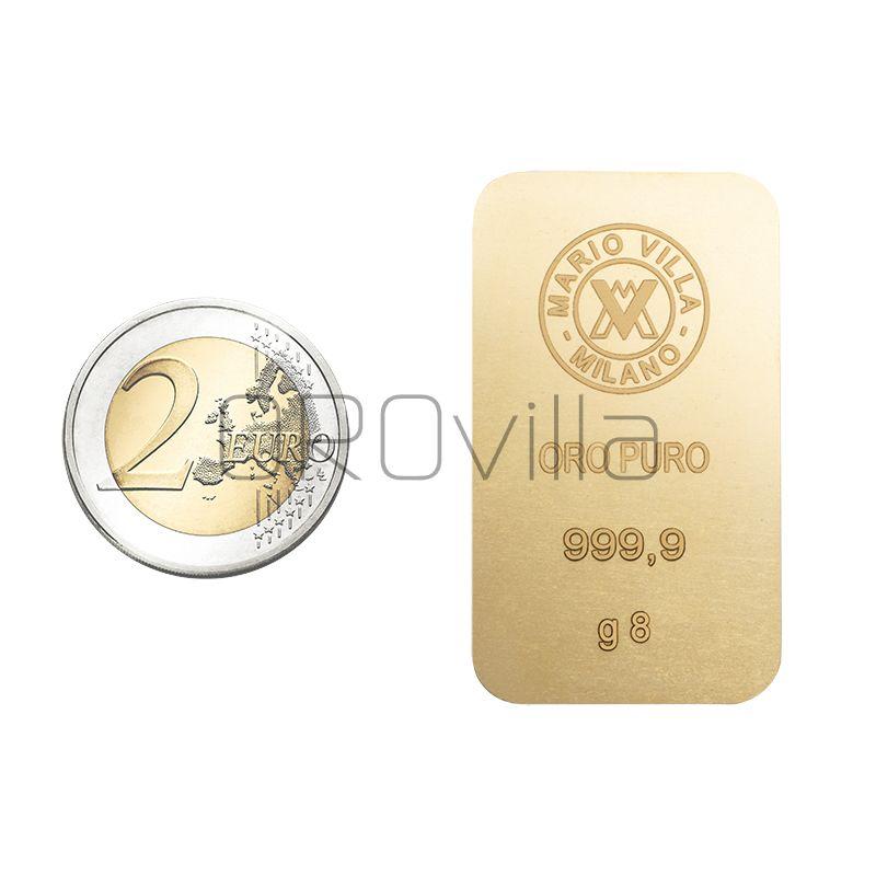 Lingotto oro 8 gr