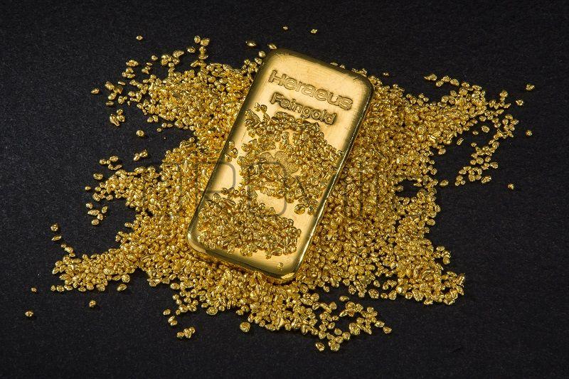 Lingotto oro fuso 250 gr. - Heraeus