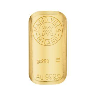 Lingotto oro fuso 250 gr