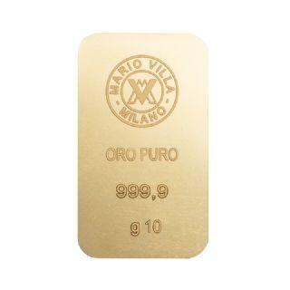 Lingotto oro 10 gr formato grande