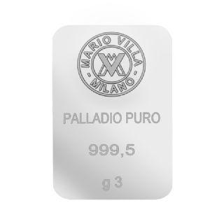 Lingotto palladio 3 gr