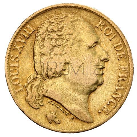 Marengo 20 Franchi Luigi XVIII