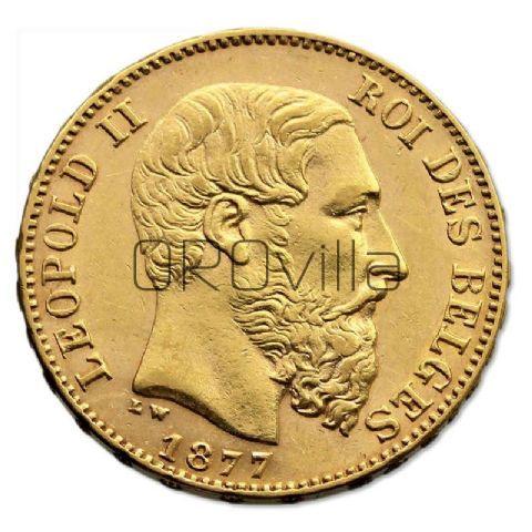 Marengo belga 20 Franchi (anni misti)