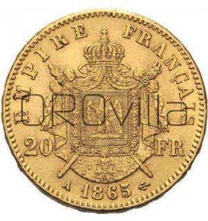 Marengo francese 20 Franchi (anni misti)
