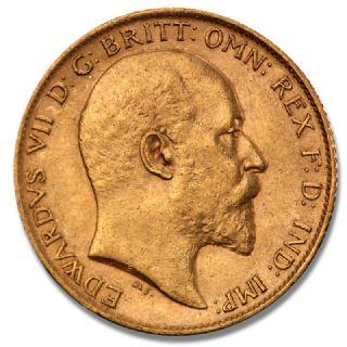 Mezza Sterlina Edoardo VII