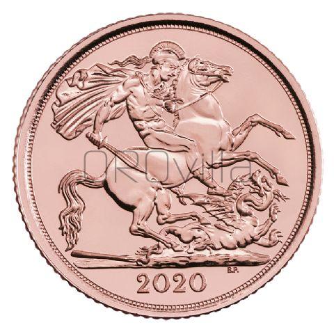 Mezza Sterlina Elisabetta II 2020