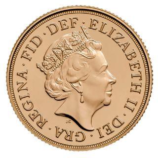 Mezza Sterlina Elisabetta II