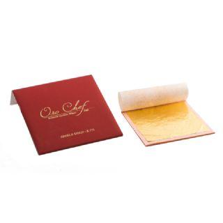 Oro alimentare - formato da 1 foglia in decalcomania