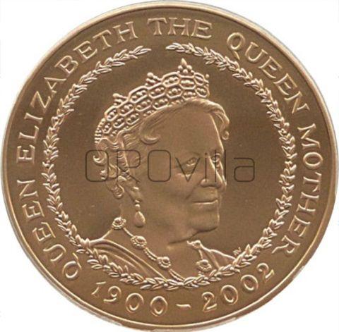 Quintupla Sterlina Elisabetta II commemorativa