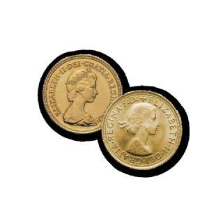 Set di Sterline d'Oro - Elisabetta II