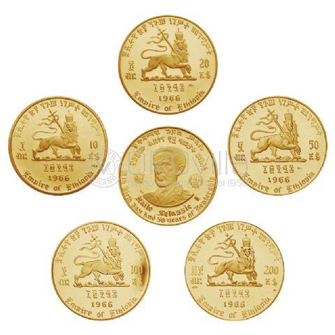 Set Etiopia 1966 in confezione originale