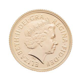 Sterlina oro Elisabetta II 2000