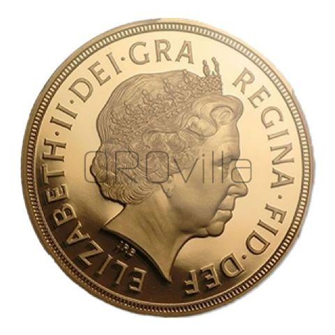 Sterlina d'oro Elisabetta II 2012
