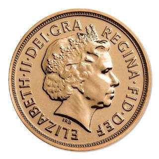 Sterlina d'oro Elisabetta II 2014