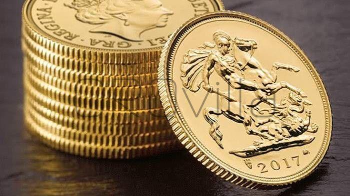 Sterlina oro Elisabetta II 2017