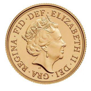 Sterlina d'oro Elisabetta II 2017