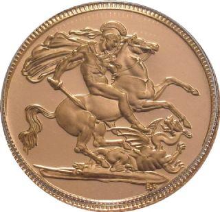 Sterlina oro Elisabetta II coronata anziana