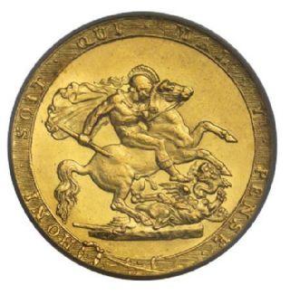 Sterlina oro Giorgio III