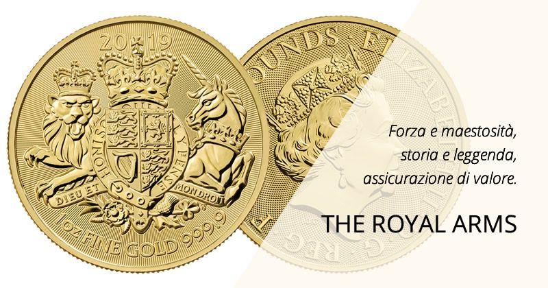The Royal Arms 2019. Una moneta che profuma di leggenda