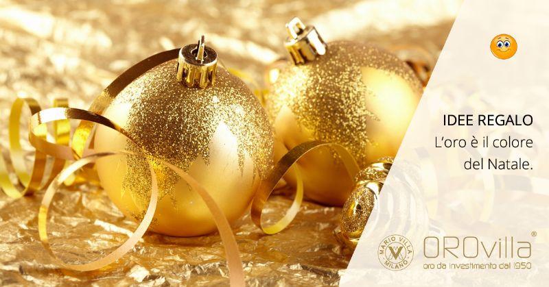 Fai un regalo eterno: l'oro è il colore del Natale