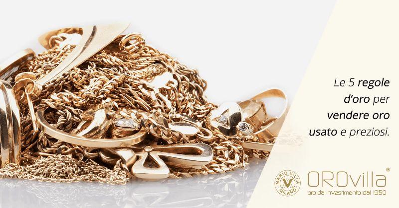 Vendere oro usato: come farlo senza rischi