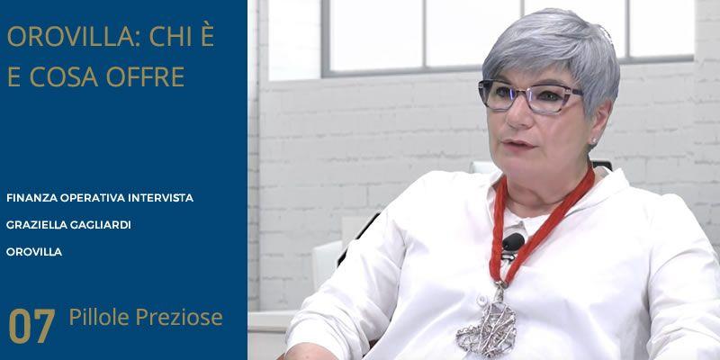 L'intervista a Graziella Gagliardi di Finanza Operativa