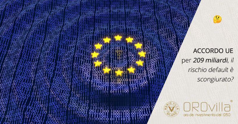 L'accordo UE, il rischio default e i risparmi degli italiani