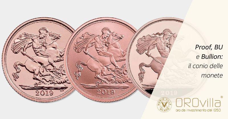 Il conio delle monete