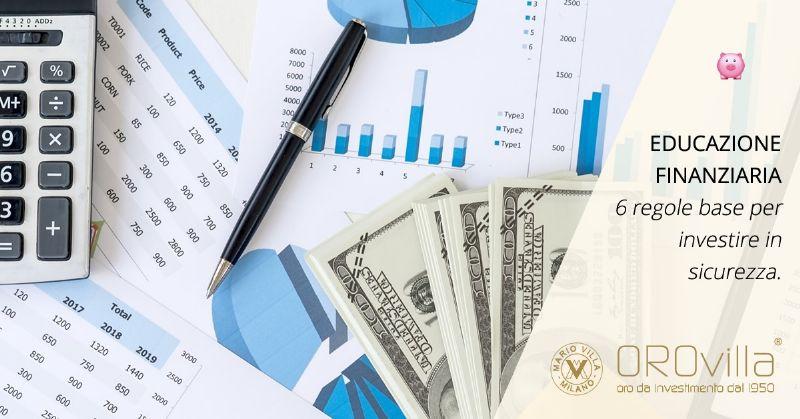 Consapevolezza finanziaria in 6 regole base