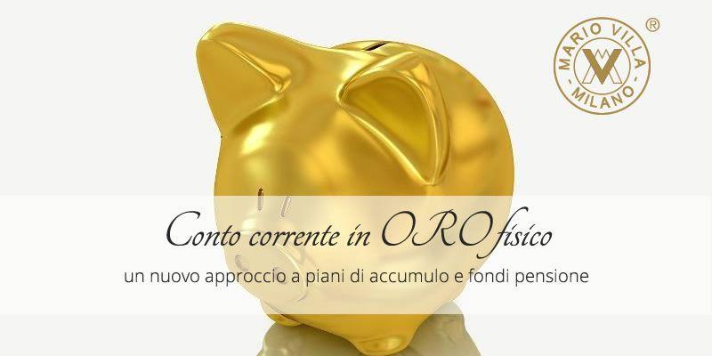 Conto in oro: fondo pensione o piano di accumulo, quando iniziare e quanto investire