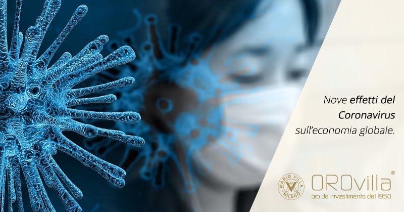 9 conseguenze economiche del Coronavirus a livello globale
