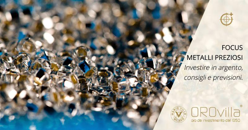 Focus metalli preziosi: investire in argento nel 2020 ha ancora senso?