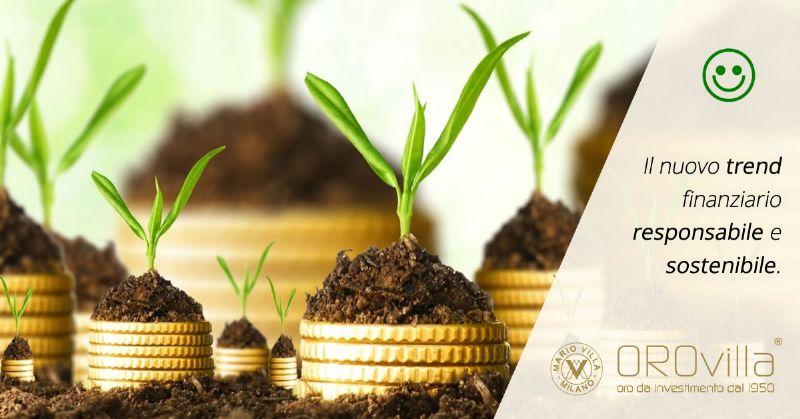 Gli investimenti green fanno bene al portafoglio