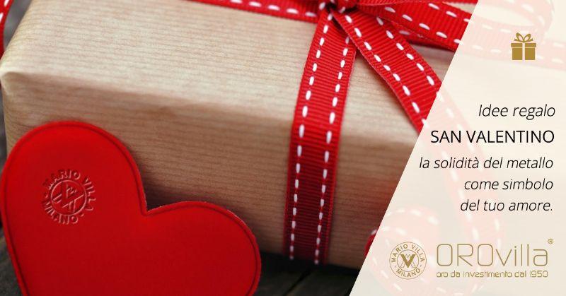 San Valentino: regalare un lingotto unico e personalizzato