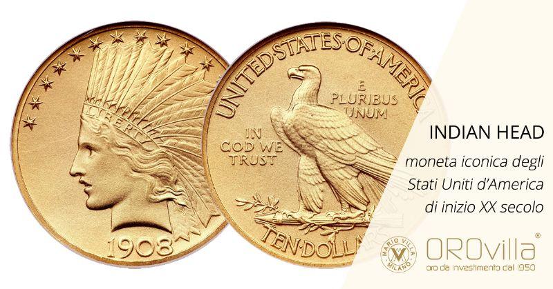 Indian Head, la moneta iconica degli Stati Uniti d'America d'inizio XX secolo
