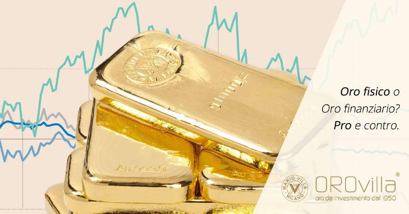 Oro fisico o finanziario per i piccoli investitori?
