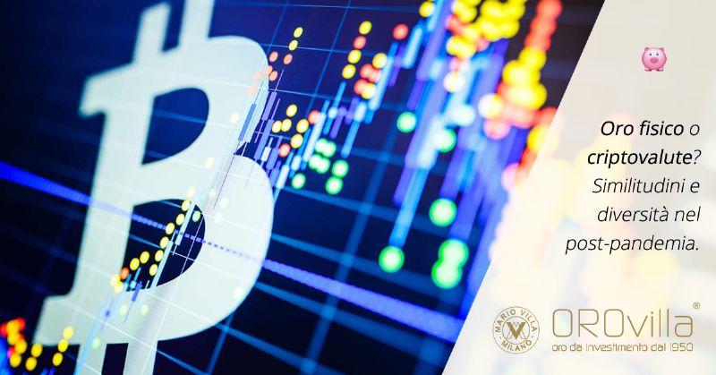 Bitcoin e Oro alla prova del dopo-pandemia